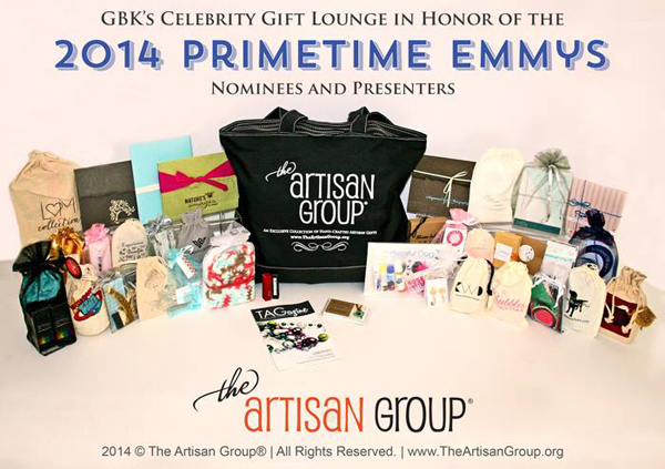 Celebrity Gift Lounge Artisan Group SWAG Bag