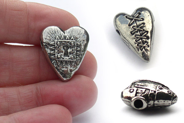 Get inspired with unique Valentine's heart beads