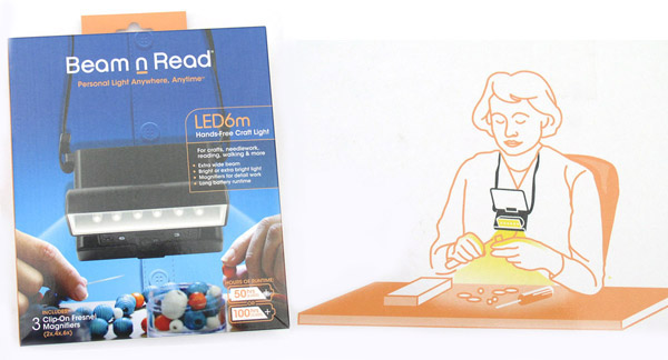 Looking for craft lights? Try Beam n Read!