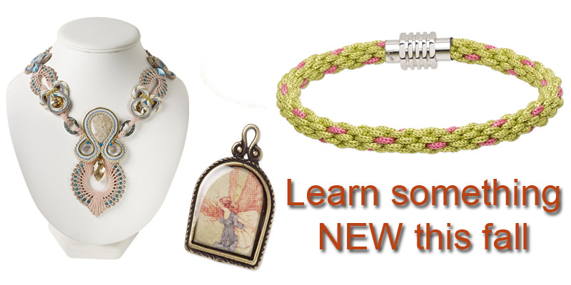 Learn something new to enhance jewelry designs