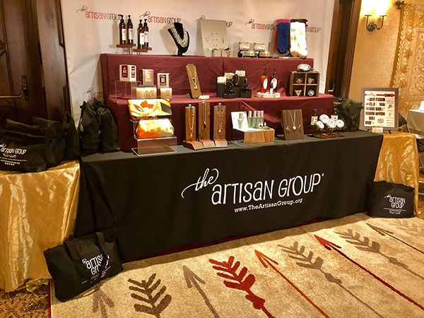 Displaying jewelry at celebrity events in Los Angeles