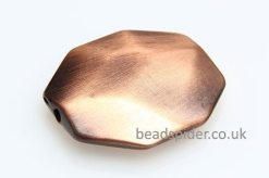 Copper Facetted Octagon