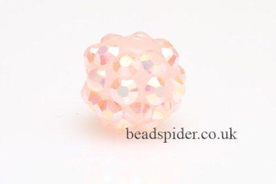Soft Pink AB Disco Ball