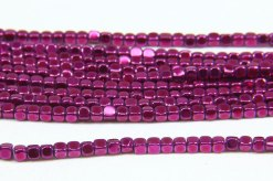 Magenta Rounded Hematite Cubes