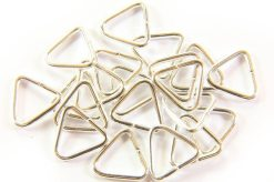 11x10mm Silver Triangle Rings
