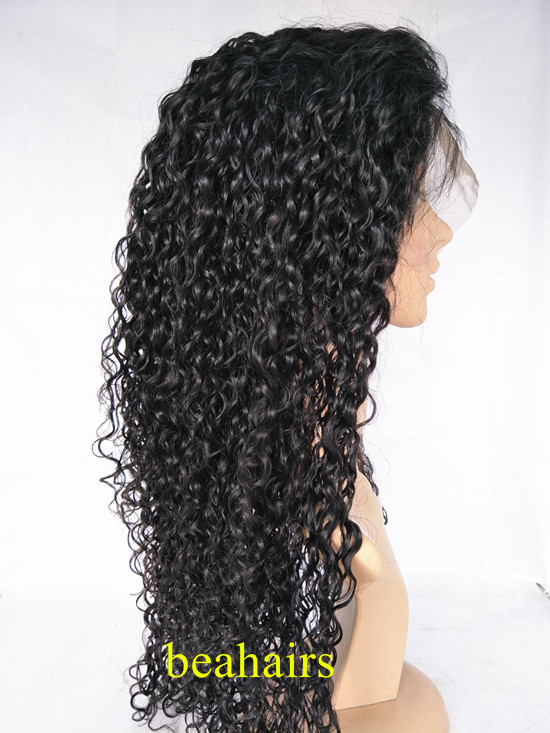 Brazilian Virgin Water Wave 360 Frontal Lace Wig HT666