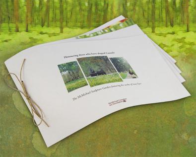 McMichael Sculpture Garden, donor, outdoor, artists, canadian