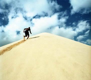 change, build brand, brand messaging, behaviour, communications, running, runner, uphill