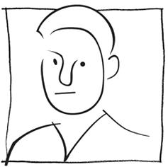 Sketch of Tom