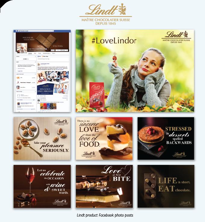 Lindt Chocolate: Social Media - Beakbane Brand Strategies and Communications