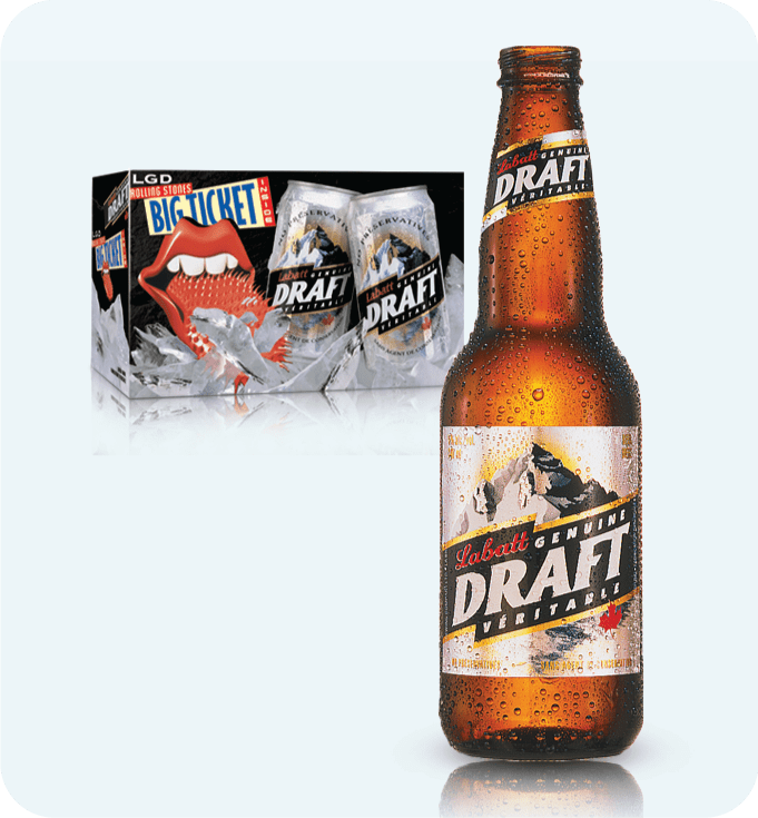 Case Study - Packaging - Labatt Genuine Draft