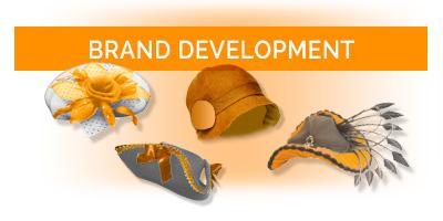 brand development button