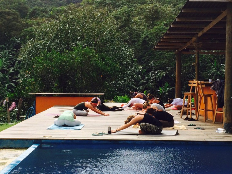kolumbien, sierra nevada de santa marta, casa elemento, yoga