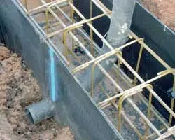 Beam Form with Service Pipe Example