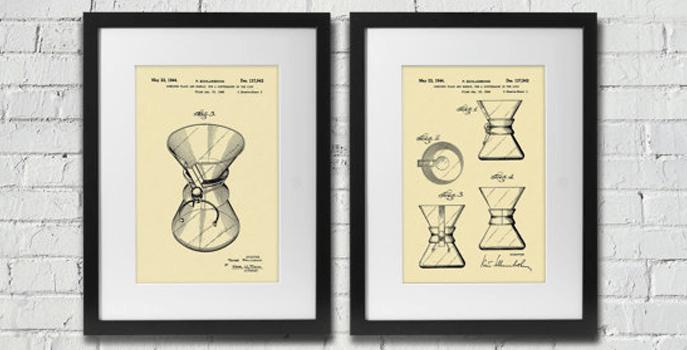 Chemex coffee patent