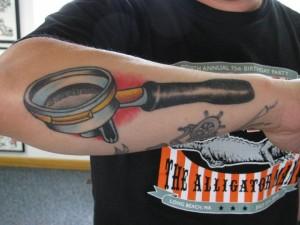 portafilter tattoo