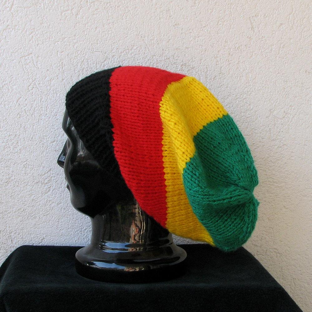 Hat Pattern Crochet Bob Marley