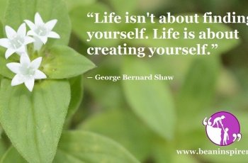 life-isnt-about-finding-yourself-life-is-about-creating-yourself-george-bernard-shaw-be-an-inspirer