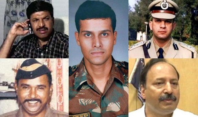 The brave officers of Mumbai police and NSG who had fought with the terrorists