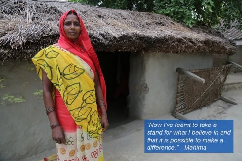 Mahima's Efforts To Stop Gender Discrimination