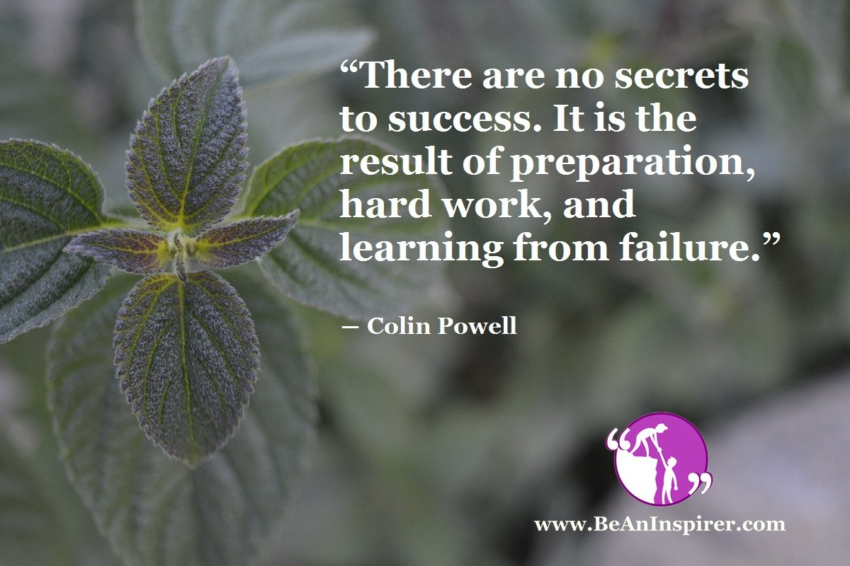 What are the Secrets to Success?