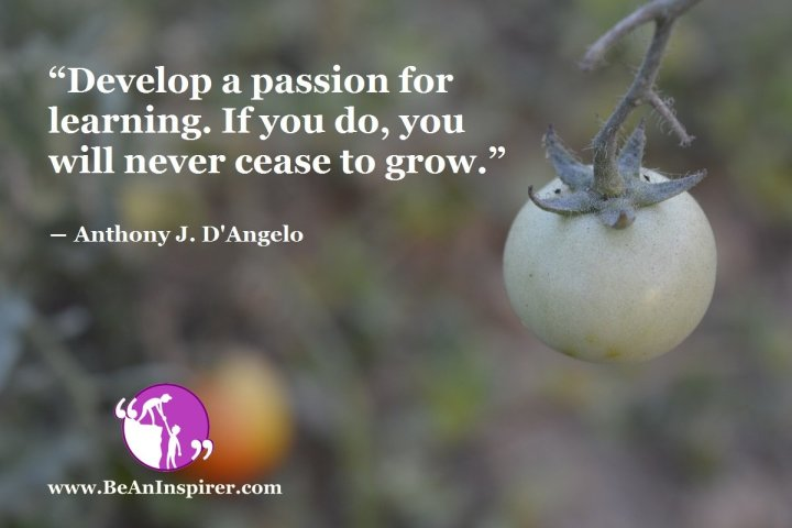 Develop-a-passion-for-learning-If-you-do-you-will-never-cease-to-grow-Anthony-J-D-Angelo-Be-An-Inspirer