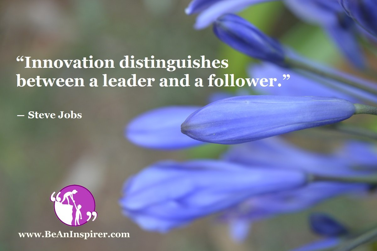 Innovation-distinguishes-between-a-leader-and-a-follower-Steve-Jobs-Leadership-Quote-Be-An-Inspirer