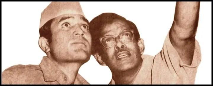 Rajesh-Khanna-and-Hrishikesh-Mukherjee-Be-An-Inspirer