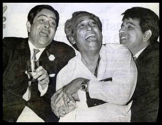 Bollywood-Actors-Raj-Kapoor-Ashok-Kumar-and-Dilip-Kumar-Be-An-Inspirer