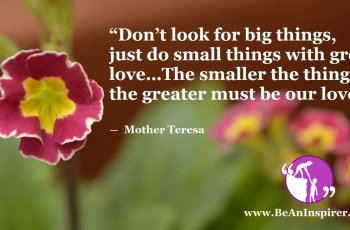 Dont-look-for-big-things-just-do-small-things-with-great-love-The-smaller-the-thing-the-greater-must-be-our-love-Mother-Teresa-Be-An-Inspirer-FI