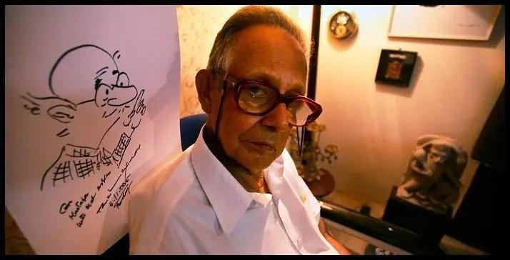 R.-K.-Laxman-Indian-cartoonist-Be-An-Inspirer