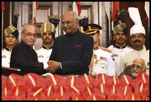 Ram-Nath-Kovind-with-Pranab-Mukherjee-Be-An-Inspirer