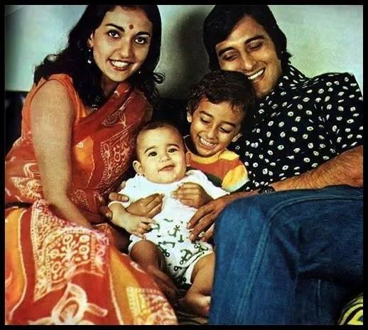 Vinod-Khanna-with-his-First-wife-Geetanjali-Khanna-and-sons-Akshaye-Khanna-and-Rahul-Khanna-Be-An-Inspirer