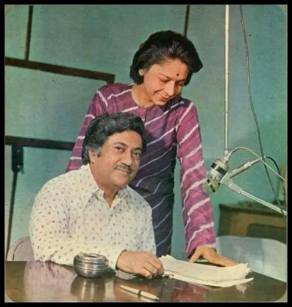 Ameen-Sayani-with-his-wife-Rama-Sayani-Be-An-Inspirer