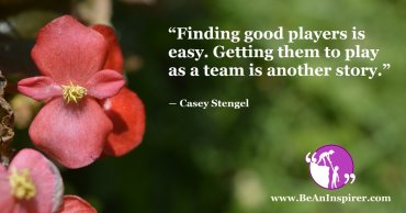 Teamwork is Essential for Success