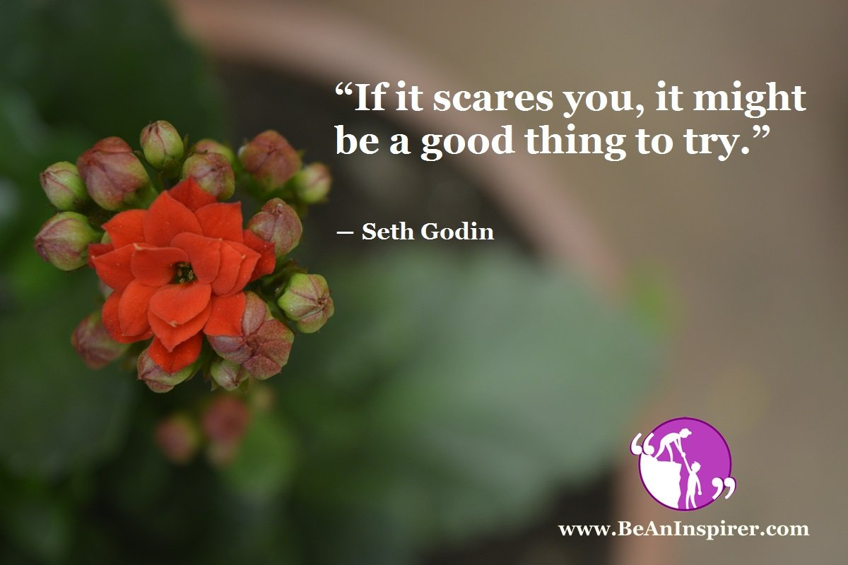 If-it-scares-you-it-might-be-a-good-thing-to-try-Seth-Godin-Bravery-Quote-Be-An-Inspirer