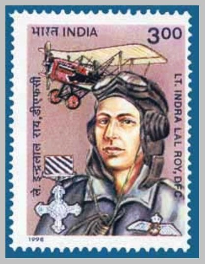 Indra-lal-roy-stamp-Be-An-Inspirer