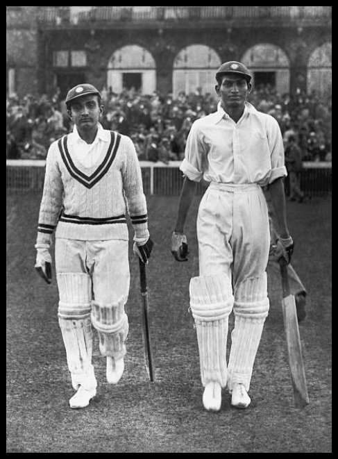 Syed-Mushtaq-Ali-Right-and-Vijay-Merchant-the-Indian-opening-pair-at-Manchester-1936-Be-An-Inspirer