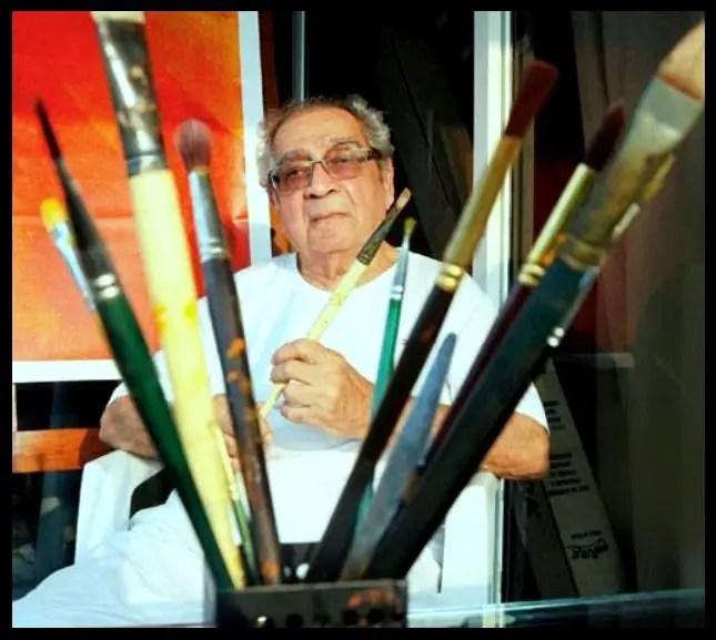 Indian-Painter-Akbar-Padamsee-Be-An-Inspirer