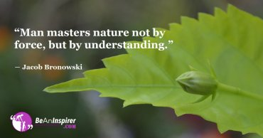 The Beautiful Co-Existence of Nature and Science is the Pathway to Successive Tomorrow