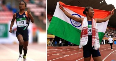 Hima Das — The First Indian Woman Athlete To Earn A Gold Medal At World Level In Track Event, Creating History