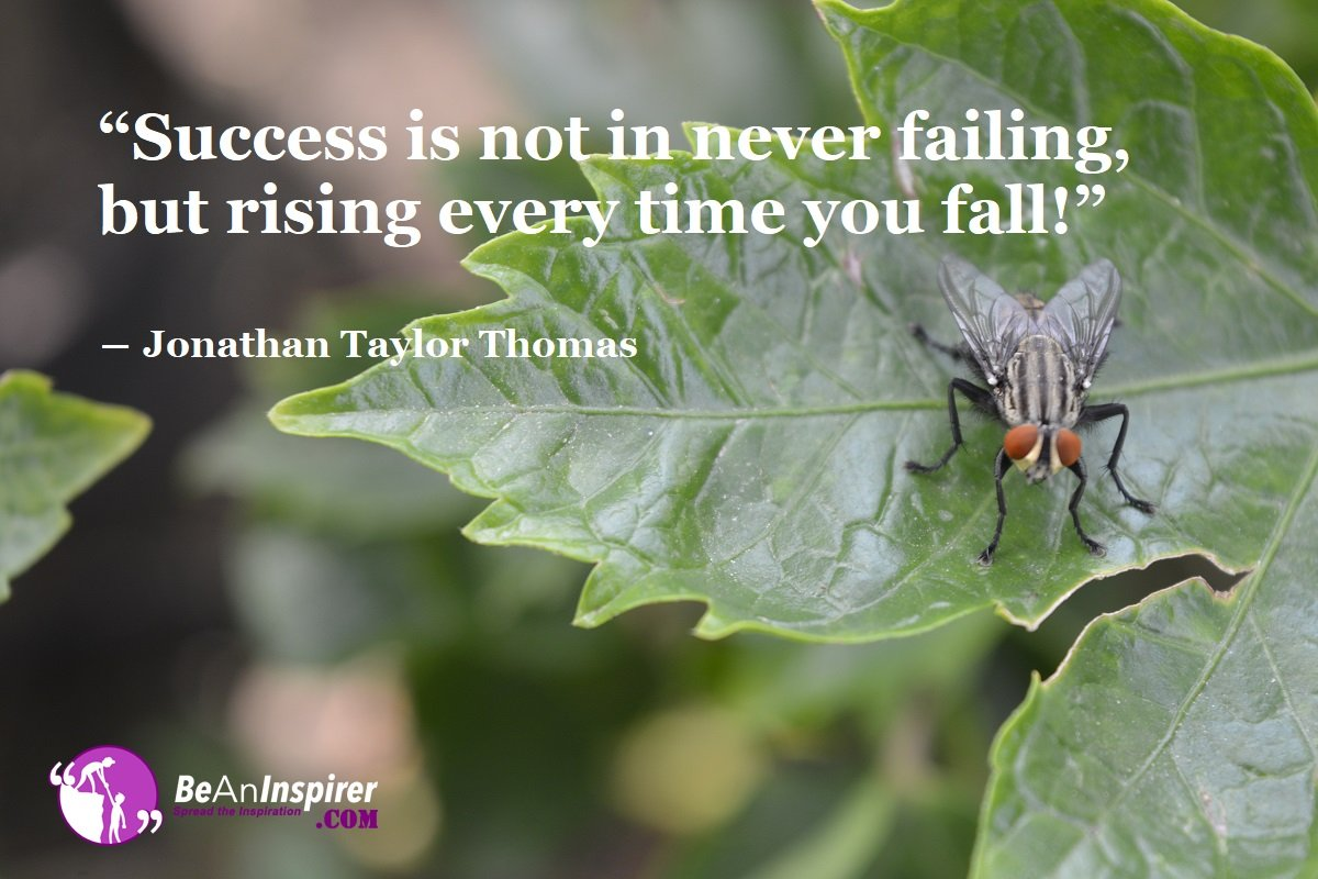 Failure Equals Learnings That Take You To Success. So Bravely Fail Faster