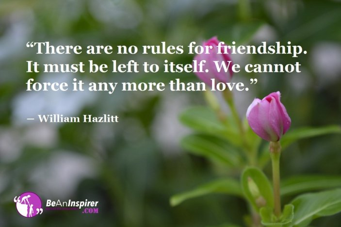 Friendship Knows No Grammar. It Freely Moves Lovingly