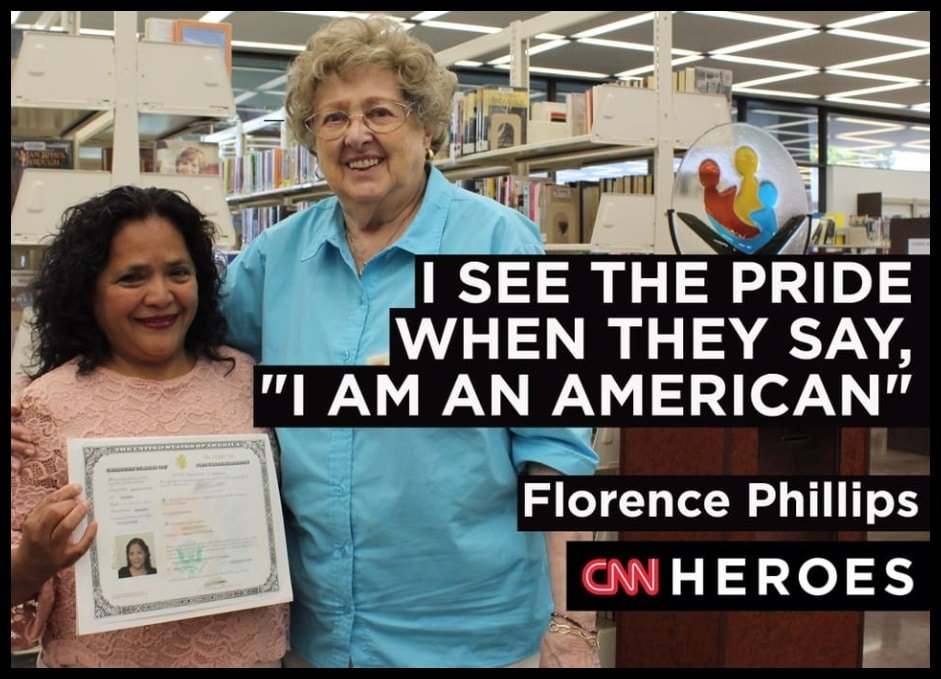 Florence Phillips –  The American teacher of English as Second Language
