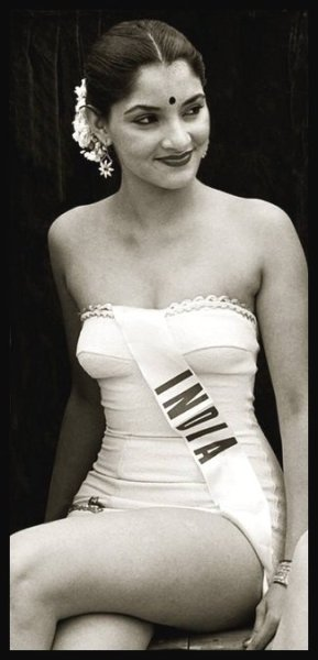 Indrani Rahman - The first Miss India to participate in the Miss Universe Pageant 1952