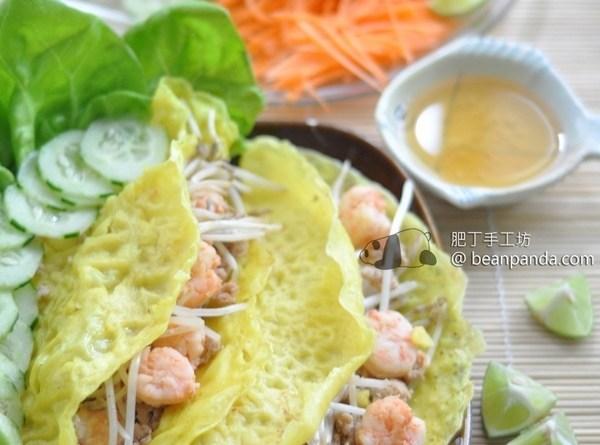 越式煎餅 Bahn Xeo【皮脆餡香】Vietnamese Crepe