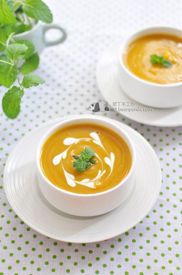 南瓜蔬菜濃湯【營養豐富】Pumpkin Soup