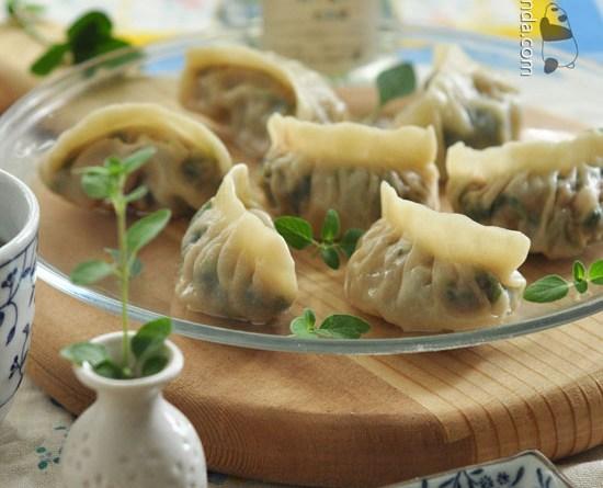 菠菜煎餃子【燙麵初學篇】Spinach Dumplings