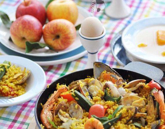 西班牙海鮮飯【熱情豪邁大鑊飯】Paella