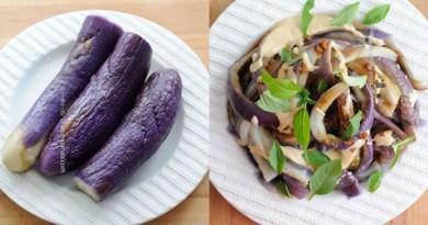 涼拌手撕蒸茄子【夏日良伴】Steamed Eggplant